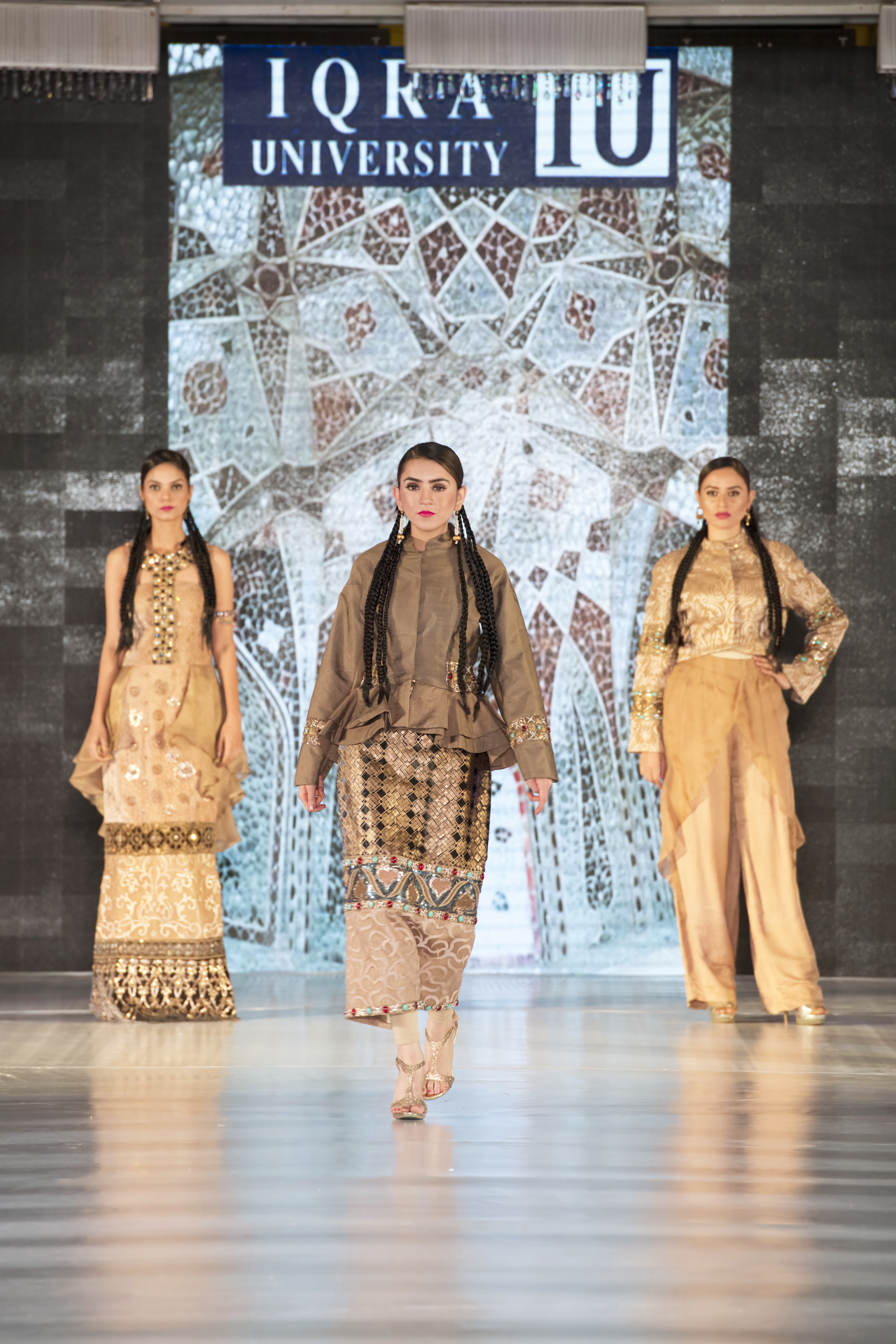 Textile Thesis Display Fashion Show Iqra University Islamabad Campus